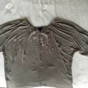 Lane Bryant Silver Sequined Blouse (14-20)